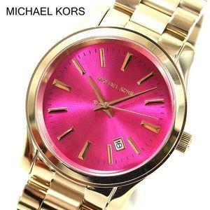 Michael Kors Gold & Pink Women's Watch
